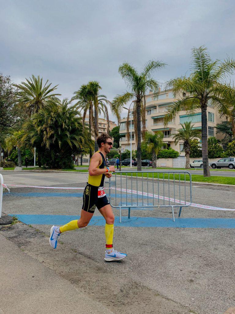 Cannes International Triathlon partie course à pied