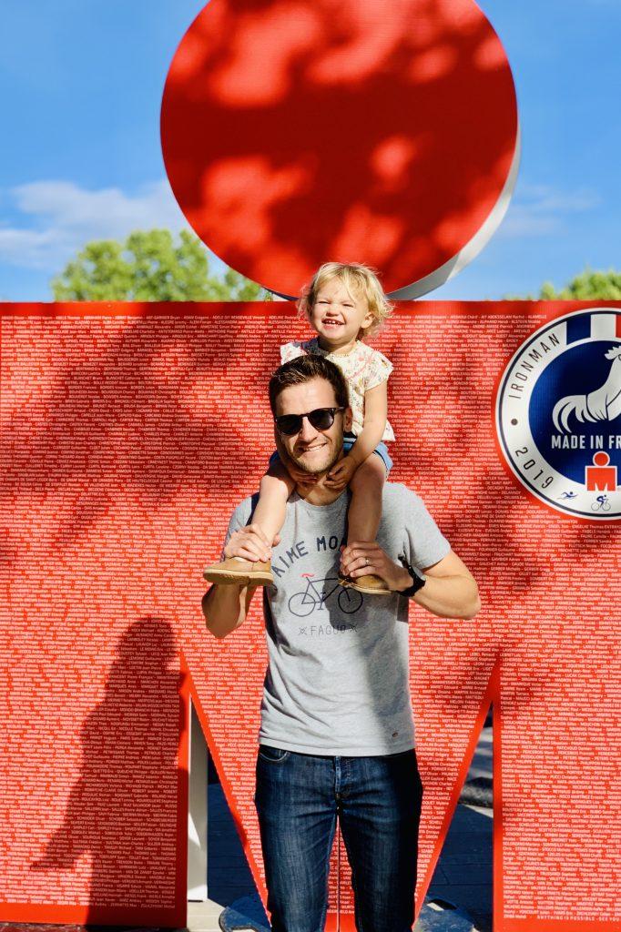 Ironman 70.3 Pays d'Aix - Père et fille